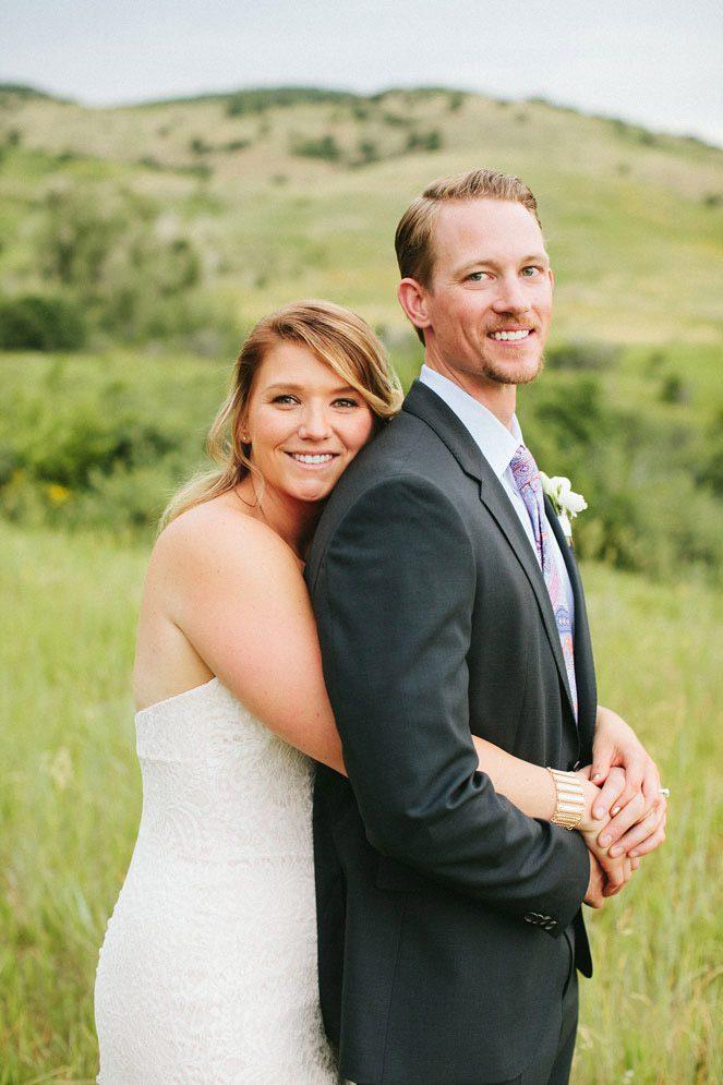 Colorado Backyard Wedding