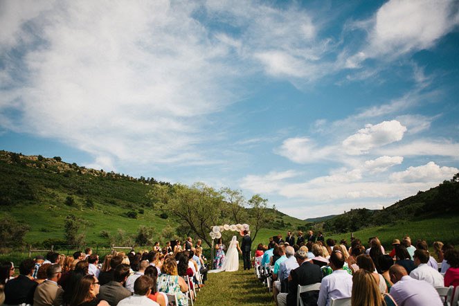 Red Rocks Wedding